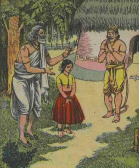 Kunjara raises Gautama-Ahalya daughter Anjana
