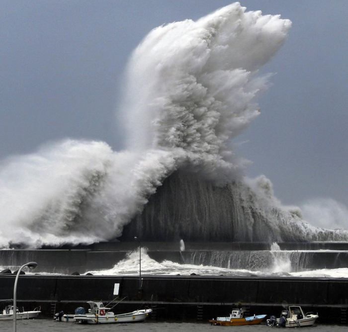 Japan Tides and Typhoon in Ramayana