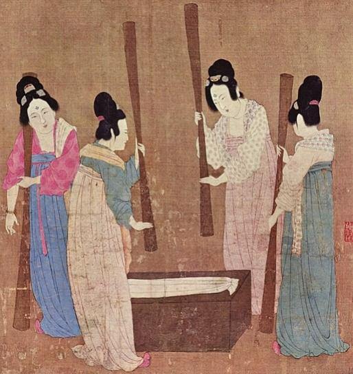 Burma (Myanmar) Silk in Ramayana