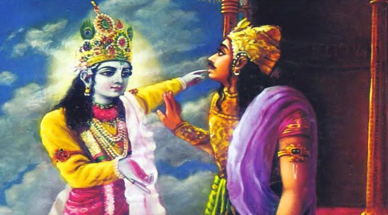 Krishna Arjuna Susharma Kurukshetra