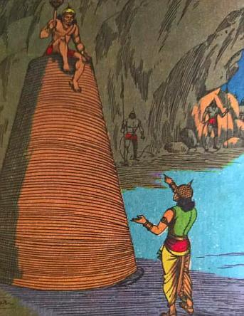 Mahiravana kidnaps Rama Lakshmana