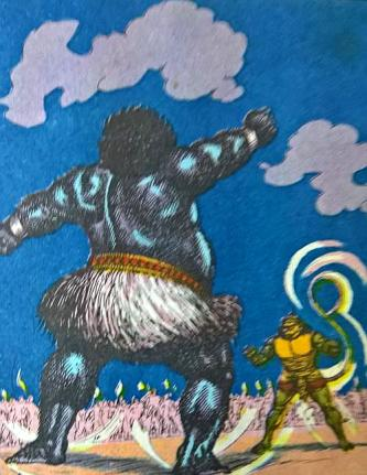 Mahiravana fights Hanuman