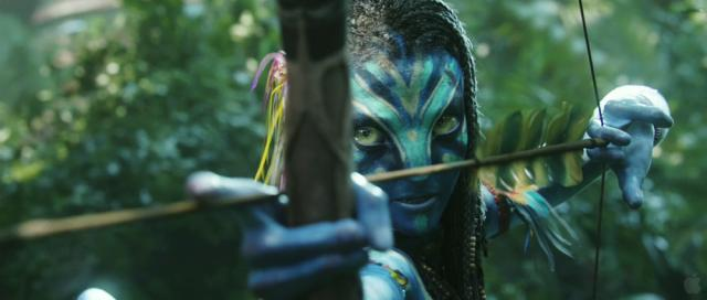 Neytiri Avatar movie Bow Arrow