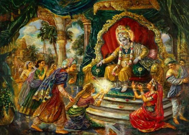 Krishna was not King of Yadavas