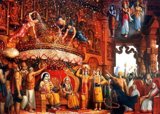 retelling ramayana rama rajya