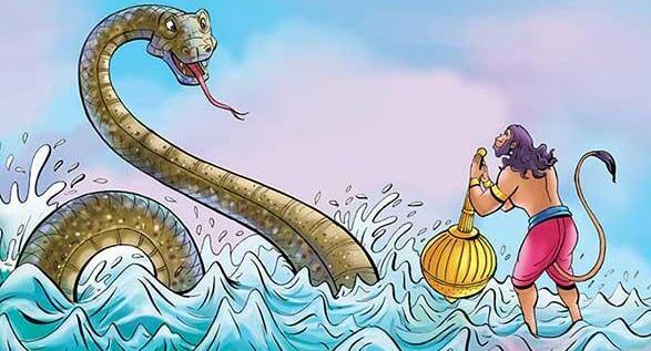 surasa hanuman ramayana