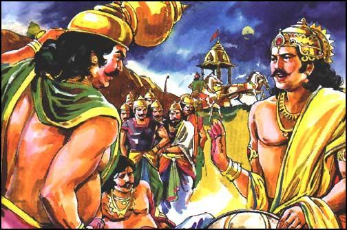 susharma insulted by Pandavas in viratanagar