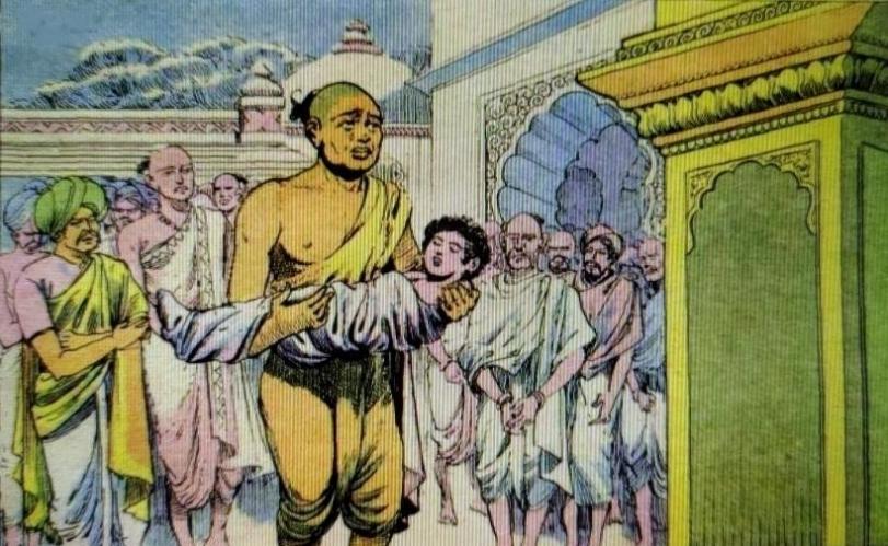 Uttara Ramayana Dead Brahmin Boy