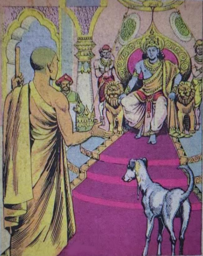 Uttara Ramayana Dog Monk Story