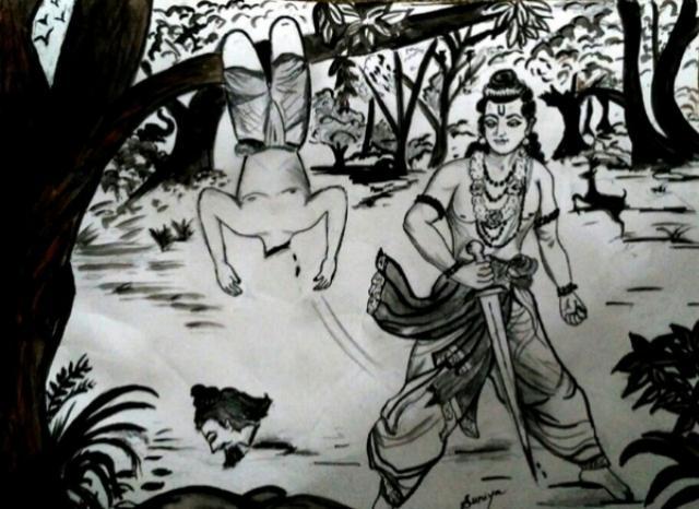 Uttara Ramayana Sambooka