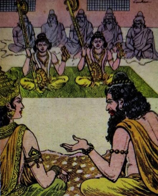 Uttara Ramayana Satrughna