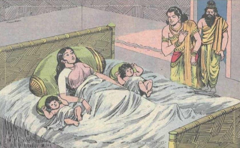 Uttara Ramayana Seetha Satrughna Kusa Lava