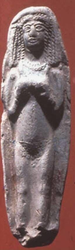 Athirat statue with vedic tilak