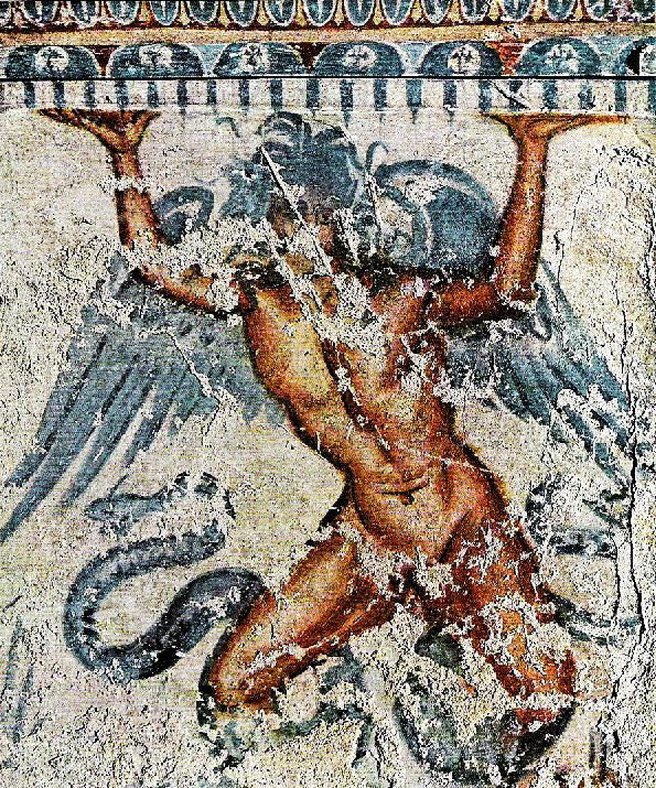 Etruscan god Typhon