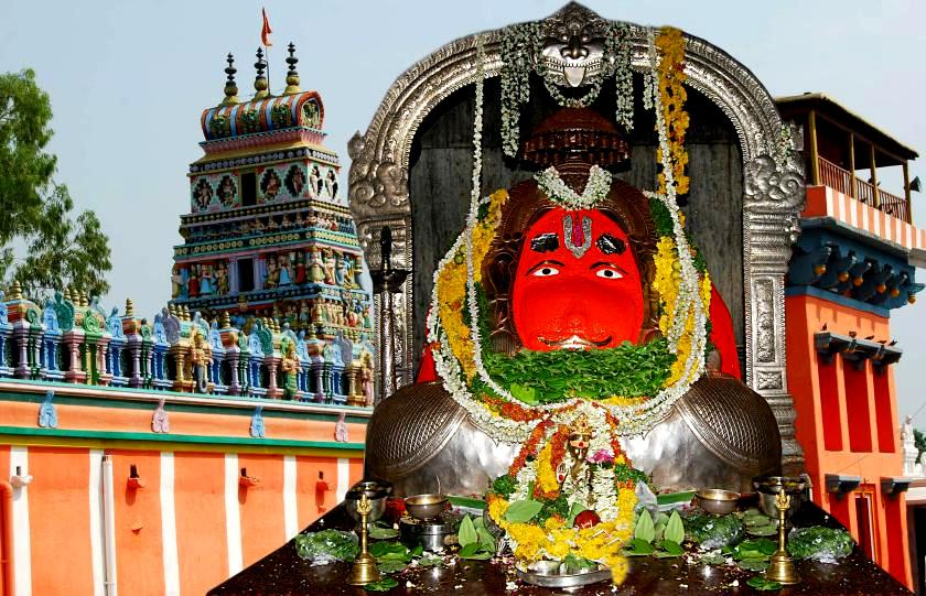 Karmanghat Hanuman Temple Hyderabad
