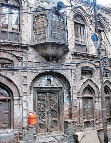 Mohalla Wangri Gran Peshawar Hindu Temple