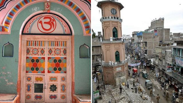 Mohalla Wangri Gran Peshawar Hindu Temple Demolished