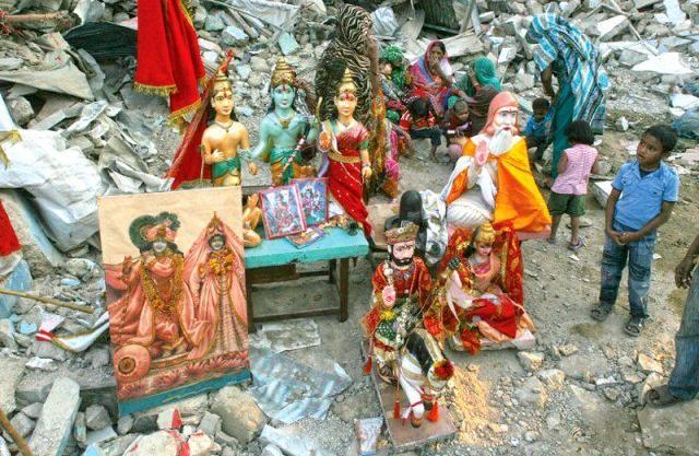 Shri Rama Pir Mandir Karachi, Demolished