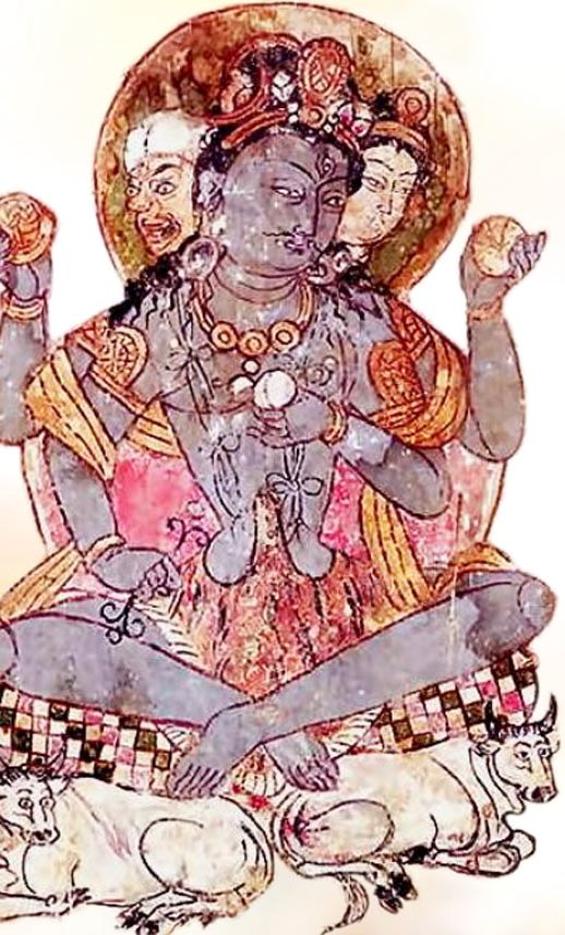 Ancient Chinese Shiva