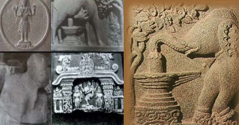 Siva carvings in China