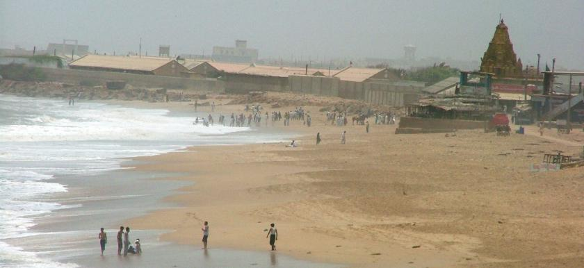 Varun Mandir Manora Beach Karachi Pakistan