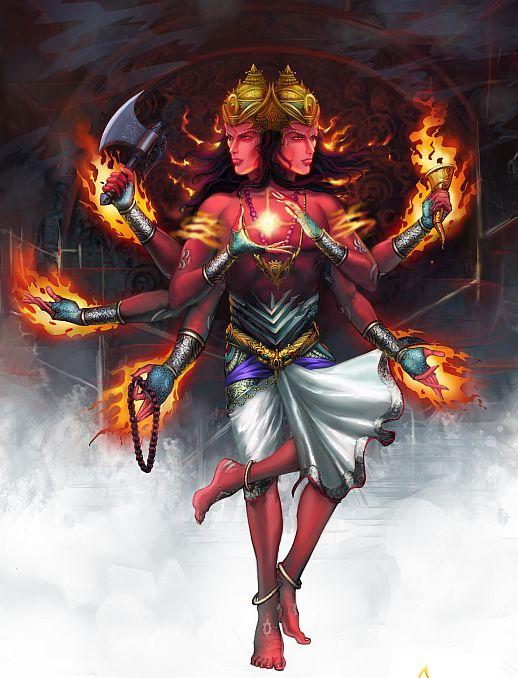 Agni Fire God