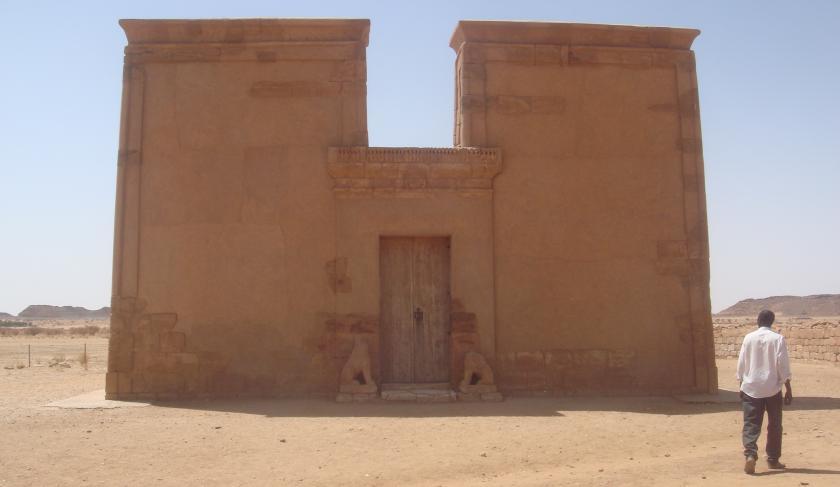 apedemak temple musawwarat es sufra