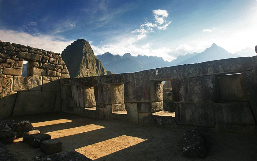 Machi Picchu Three Windows Temple