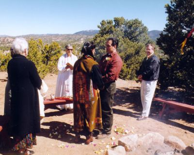 native american seven steps wedding