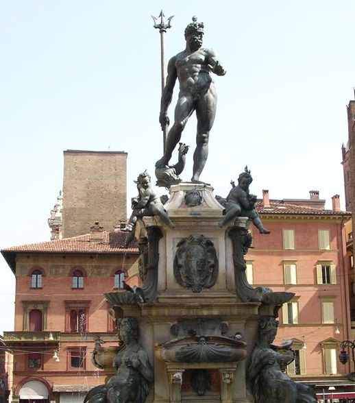 neptune fountain at bologna