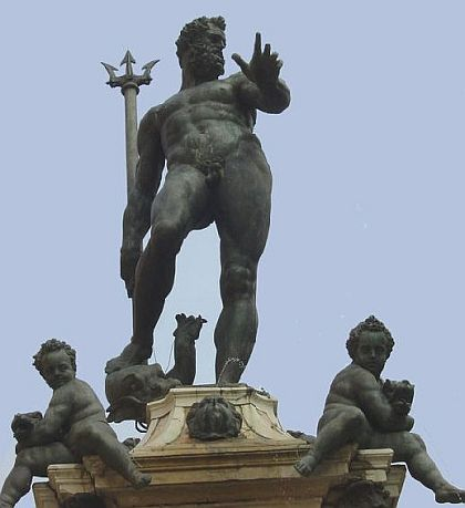 neptune god at bologna