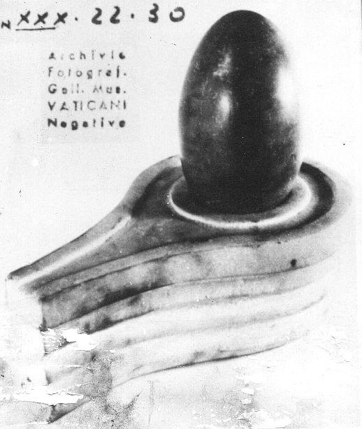 shiva lingam etruscan museum vatican city