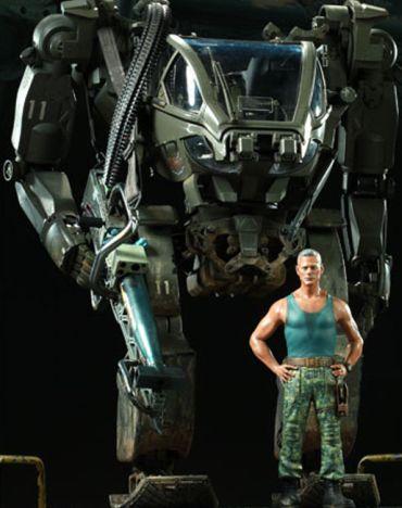 Avatar movie AMP suit