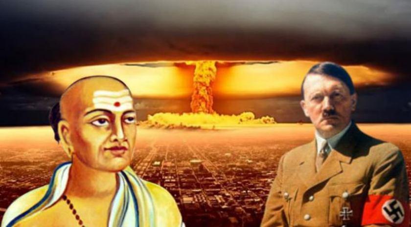 Dandibhatla Viswanatha Sastry Atom Bomb Germany Hitler