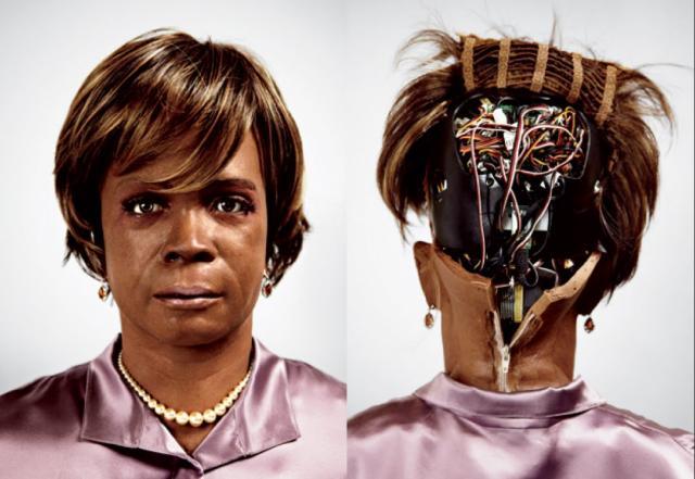human mind cloning AI robot Bina-48