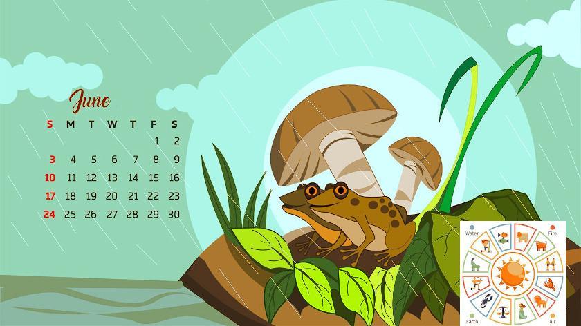 Ancient Year Varsha Rainy Season