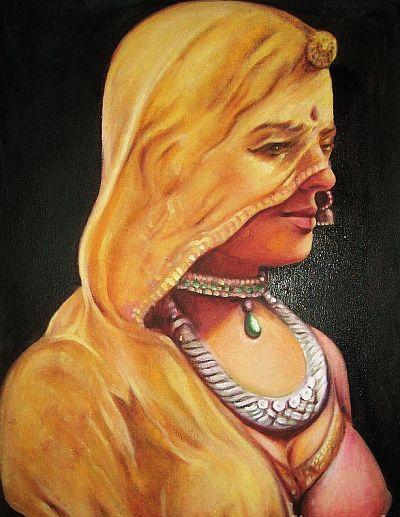 ghunghat saree